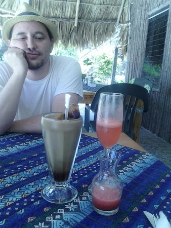 Melt Cafe: Ice Coffee and Watermelon Mimosa - He is like really?