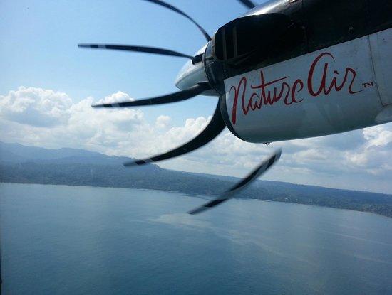 Guaria de Osa Ecolodge: The flight to Drake Bay