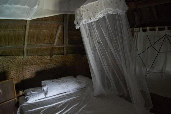 Spider House Resort: Bed, mossie net
