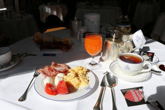 Grand Hotel Villa Serbelloni: Our breakfast