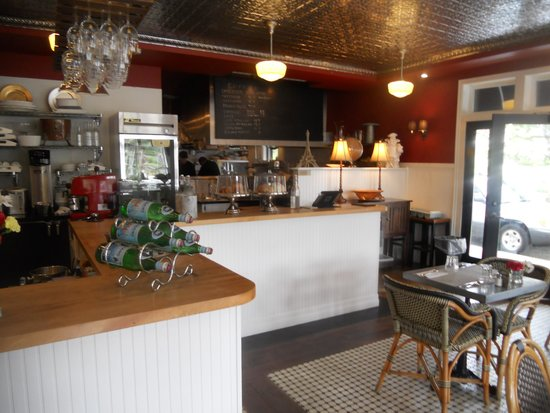 Cannon Beach Hotel: Cafe