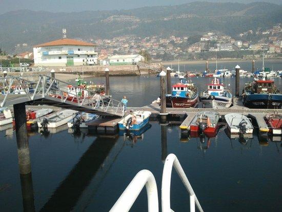 Casa O Canastro: Puerto de Moaña