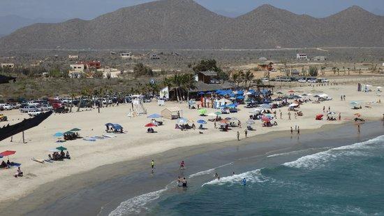 Playa Los Cerritos : View from Hacienda Cerritos