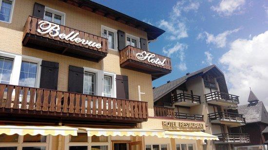 Hotel Bellevue: Aussenaussicht
