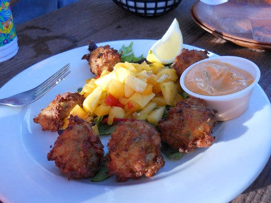 Swordfish Grill: Conch Fritters