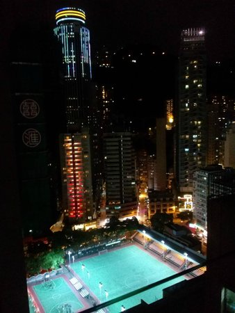 Brighton Hotel Hong Kong : View from 2704