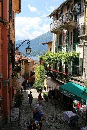 Grand Hotel Villa Serbelloni: Streets of Bellagio...about a 3-5 minute walk from the hotel