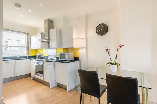 The Apartments by Prestige: Plenty of space in our fully fitted kitchens offer all the benefits of your own home.