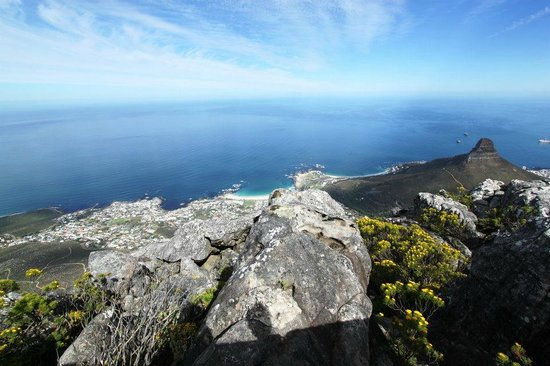 amazing view from table mountain picture of table mountain rh tripadvisor ie