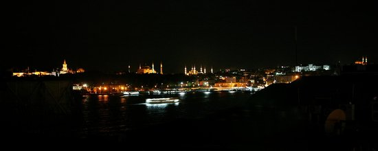 Karakoy Port Hotel : Istanbul From Our Terrace