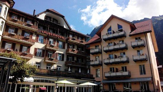 Hotel Victoria-Lauberhorn : Aussenansicht