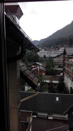 Hotel Victoria-Lauberhorn: Aussicht