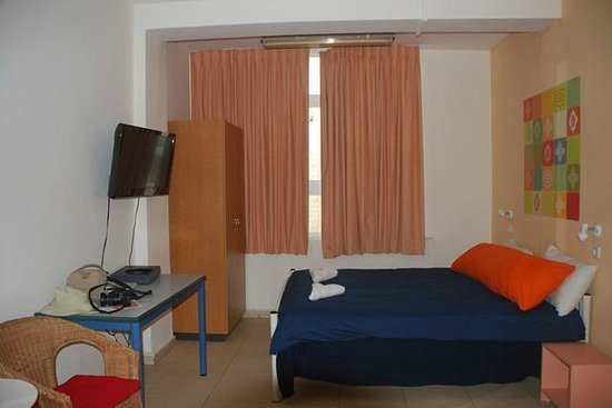 Abraham Hostel Jerusalem: Habitación doble superior