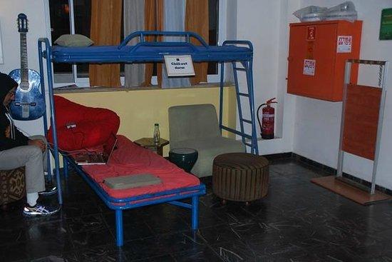 Abraham Hostel Jerusalem: Una cama de urgencia