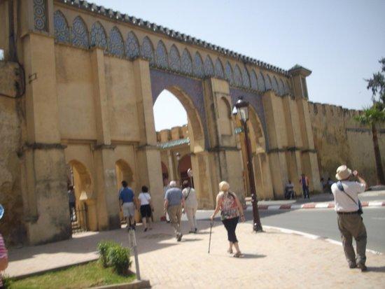 Médina de Meknès : Meknes - Medina wall