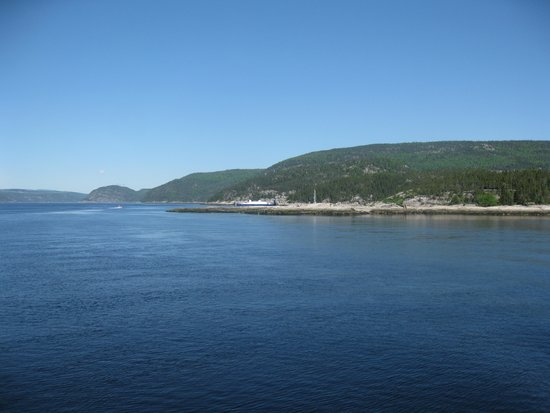 Hotel Tadoussac : The view on the water