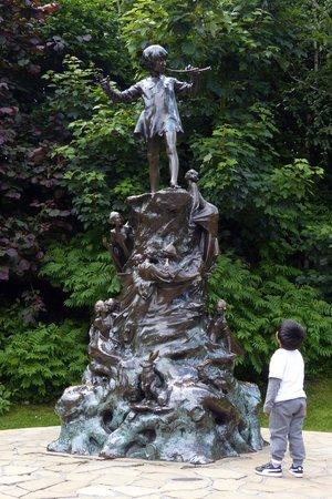 Peter Pan Statue In Kensington Garden