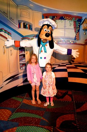 Disneyland Hotel : Ужин