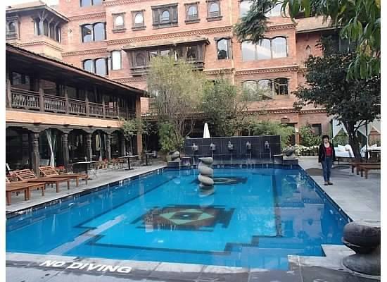 Dwarika's Hotel : Swimming Pool