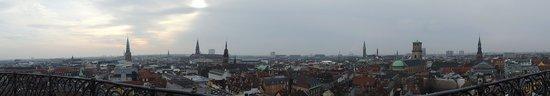Rundetaarn: Panaroma of the view