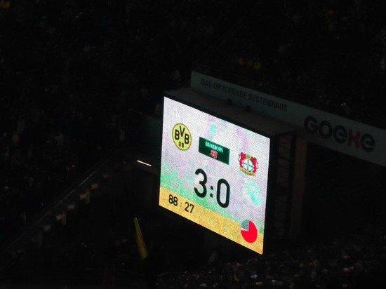 Signal Iduna Park: Marcador