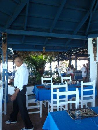 Andilana Beach Resort : ristorante pili pili
