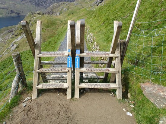 Snowdon: Start of the Pyg Track from Pen-y-Pass