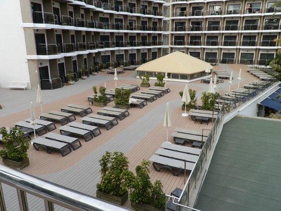 Occidental Margaritas: Sun deck / lounge