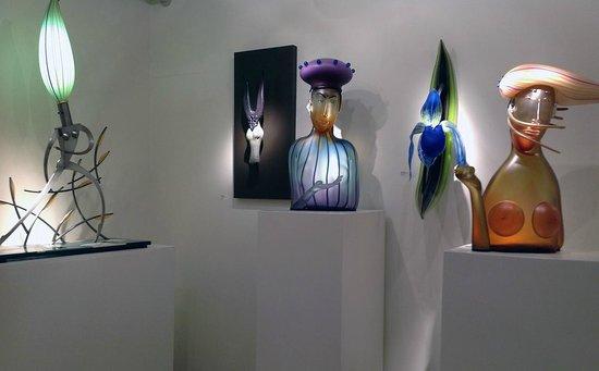 Schantz Galleries : schantz gallery upstairs with Dan Dailey William Morris and Debora Moore sculptures