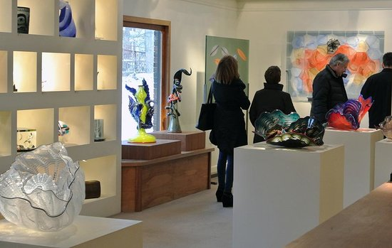 Schantz Galleries : Visiting the best glass gallery in the north east...