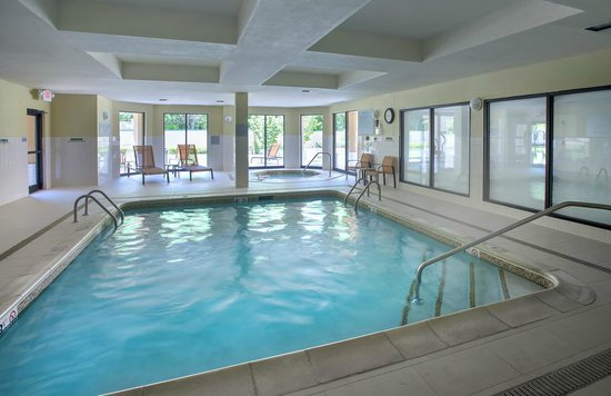 Courtyard Parsippany: Indoor Heated Pool