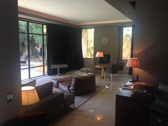 Palais Namaskar: Sitting room