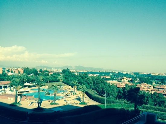 Rome Marriott Park Hotel: View from our room
