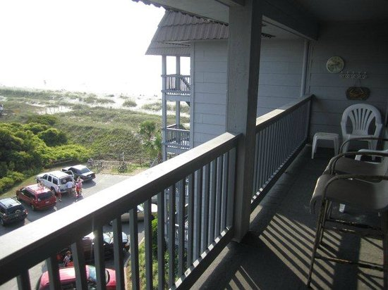 Hilton Head Island Beach & Tennis Resort: View from the balcony