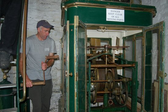 Wick Heritage Museum: Now where's that optic engage lever?