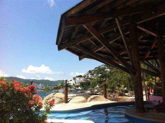 Las Brisas Acapulco: Vista a la bahía