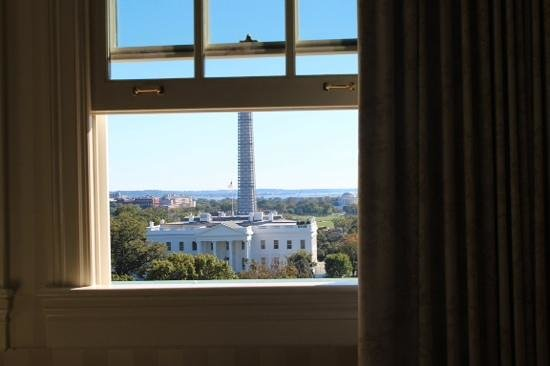 The Hay-Adams: Our priceless view from our room.