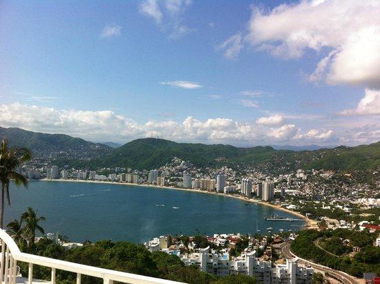 Las Brisas Acapulco: Vista desde la habitación