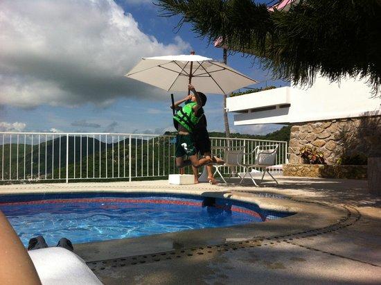 Las Brisas Acapulco: Alberca habitación