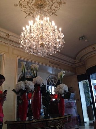 Hotel Balzac: ресепшн