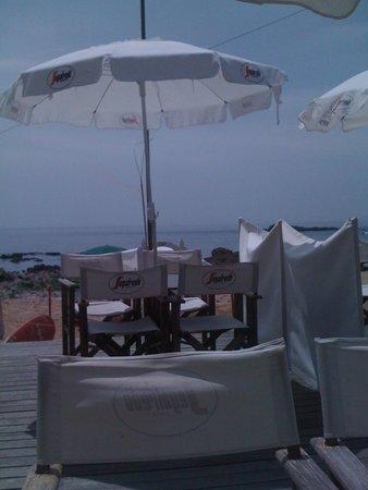 Praia da Luz: The view at lunch time