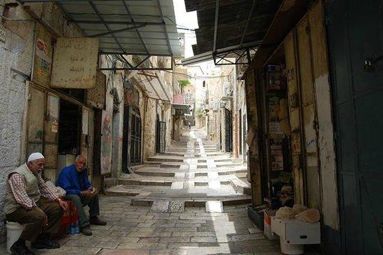 Das moslemische Viertel: Una calle del barrio árabe