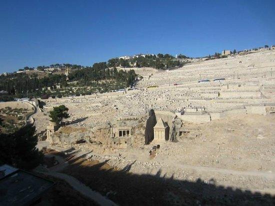 Mont des Oliviers : Cementerio judío y tumbas asmoneas