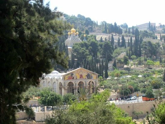 Mount of Olives: Iglesia franciscana e iglesia rusa