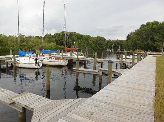 The docks and boat ramp areas picture of bull creek for Fish creek florida