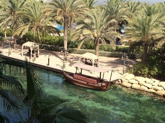 Jumeirah Al Qasr at Madinat Jumeirah: view from the balcony