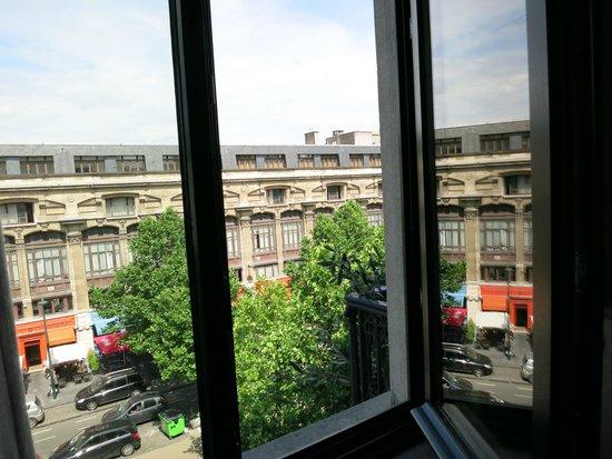 Sweet Brussels: View from window