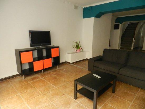 Hotel San Carlos: sala TV