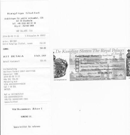 Royal Palace: ticket