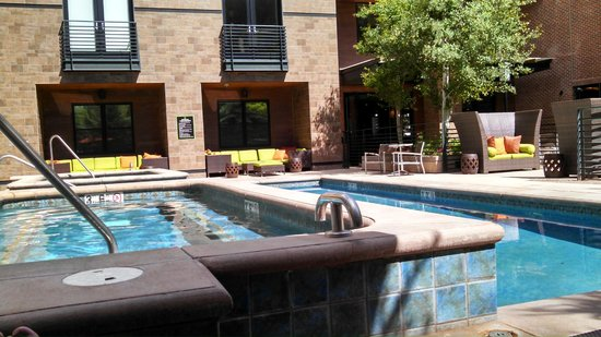 The Limelight Hotel : Pool and hot tubs